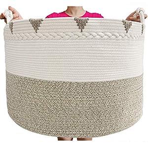 TerriTrophy XXXXLarge Blanket Basket 22in x 22in x...
