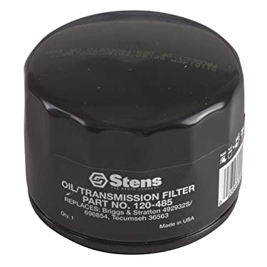Stens New Oil Filter 120-485 Compatible with/Replacement for: Kubota B1550, B1700, B1750, B20, B21, B2301, B2320, B2400, B26, B2601, B2620, B2630, B2650, B2920, B4200, B5100, B6100, B6200 AM119567