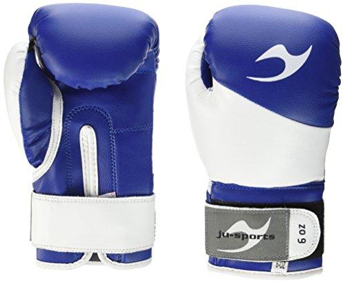Ju-Sports Boxhandschuhe Bonsai, Blau/Weiß, 6, 6035006