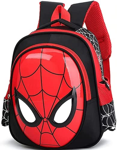 Mochila infantil de Spiderman para niños (2 – 4 años), mochila impermeable para niños, Spiderman 1., talla única,