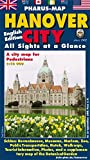 Pharus-Map Hanover City, 1:12000: All Sights at a Glance.  A city map for Pedestrians. English Edition. -