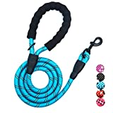 ❤ SPECIAL DESIGN MAKE IT DURABLE BUT STILL LIGHT: There is a high-density anti-biting braid layer in the middle of the nylon rope. This material greatly improves the durability of the rope and the strength is nearly double powerful compared with othe...