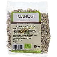 Bionsan Pipas de Girasol Peladas Naturales Ecológicas | 6 Bolsas de 250 g | Total: 1500 gr.
