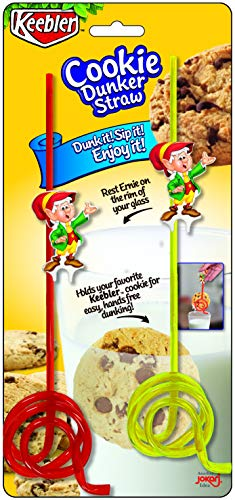 Keebler's Cookie Dunker & Oreo Cookie Dipper, 2 Pack, (4 straws total) Dipping Straw for Oreos and Cookies - Dunk It, Sip It, Enjoy!