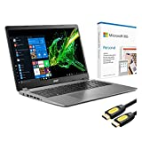 Acer Aspire 3 A315 Slim Laptop, 15.6' Full HD, Core i5-1035G1 4-Core up to 3.60 GHz, 8GB RAM, 256GB SSD, Ethernet, Webcam, HDMI, KeyPad, Mytrix HDMI Cable, Microsoft 365, Win 10