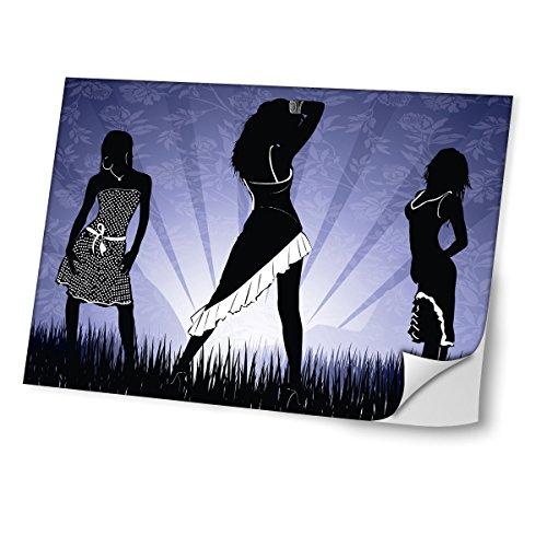 Diva 10413 Skin Sticker Schutzfolie Vinyl mit Ledereffekt Laminat & Buntem Design für Laptop 15,4 Zoll