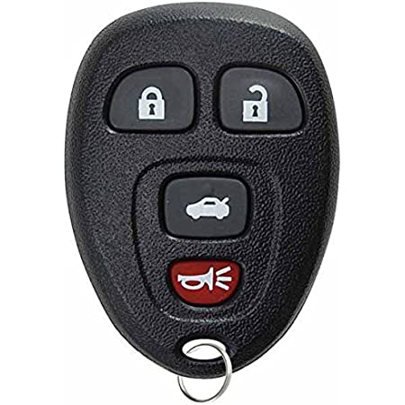 KeylessOption Keyless Entry Remote Control Car Key Fob Replacement for 15912859