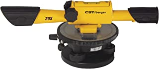 CST/berger 54-190B 20X Speed Line Transit Level Package with Cross Hairs and Carrying Case (Discontinued by Manufacturer)