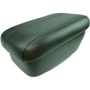 /1p1061000/a Seat Accoudoir en cuir Leon Noir avec Rouge fonc/é veines/