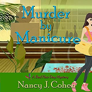 Murder by Manicure audiobook cover art