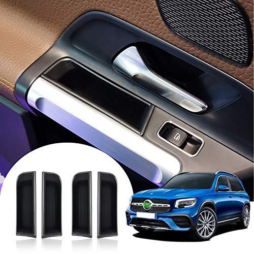 LFOTPP Compatibel met B-EPklasse auto voorkant deurgreep armleuning opbergdoos container 4 stuks