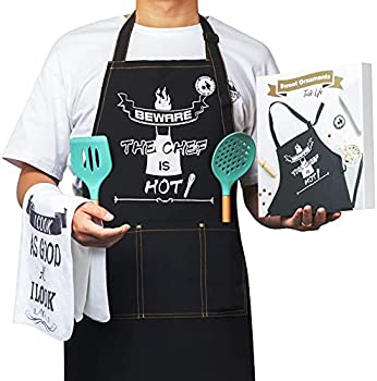 Panadia Grilling Apron with 3 Pockets