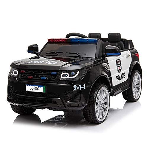 Lotee Kinder können auf Kinder elektrische Polizei Auto große Fernbedienung Auto Rc Auto Baby Doppeltür Double Drive Spielzeugauto kann Elektroauto Batterie Auto Fahrt Batterie Auto Polizisten Geschen