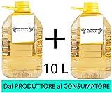 Confezione 2 PET da 5 L VINO FALANGHINA IGP IGT CAMPANIA 12,5% Sfuso da Azienda Agricola...