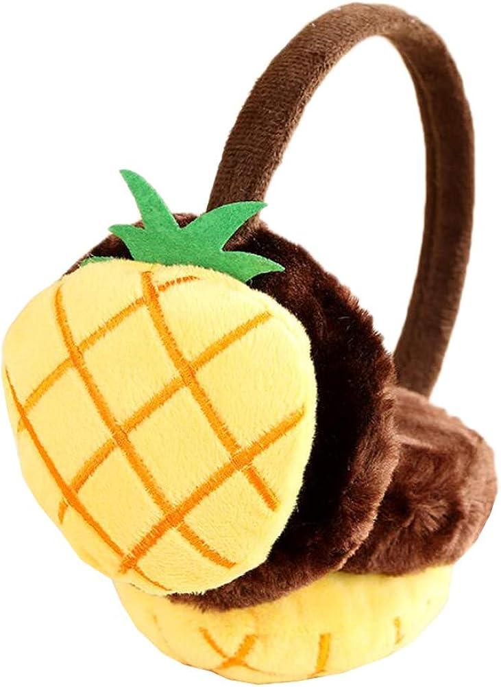 Cute Animal Soft Earmuffs Winter Warm Outdoor Ear Covers Headband Fur Ear warmer,#C2