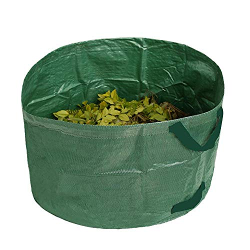 63 Gallonen Gartentasche Wiederverwendbare Hochleistungs-Gartentaschen Lawn Pool Garden Leaf Waste Bag Für Den Garten Hinterhof