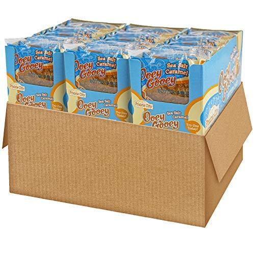 Prairie City Bakery Sea Salt Caramel Ooey Gooey Butter Cake, 3 Boxes, 30 Individually Wrapped Cakes