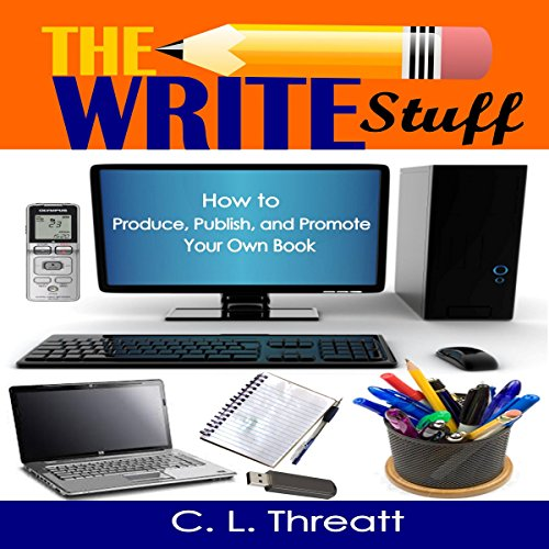 The Write Stuff audiobook cover art