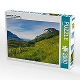 Paysage au Trentino 2000 pièces Puzzle paysage (CALVENDO Or)