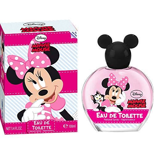 Disney Mickey & Minnie Disney minnie mouse eau de toilette 100 ml - natural spray im schönen glasflakon mit minnie mouse kugel-verschluss 1er pack 100ml