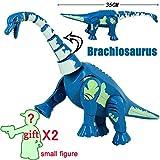 LCZMQRCLMZRQ Figura de Juguete de Dinosaurio Jurásico Indoratpor Triceratops Rex Dino Brick World Set Bloque de construcción Compatible con