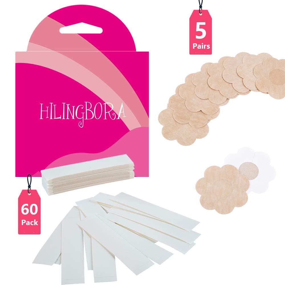 HILINGBORA Fashion Beauty Adhesive Flower shaped