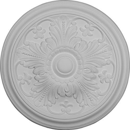 Ekena Millwork CM17VI 16 7/8-Inch OD x 5/8-Inch Vienna Ceiling Medallion by Ekena Millwork