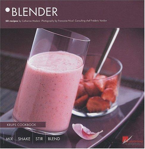 Blender: Krups Cookbook