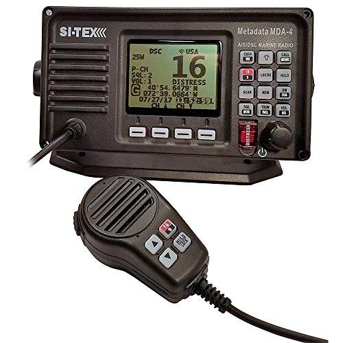 Si-tex MDA-4 VHF-FM DSC Radio w/Built-in AIS [MDA-4]
