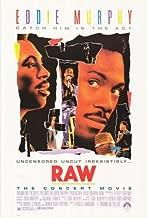Pop Culture Graphics Eddie Murphy Raw Poster Movie 27x40