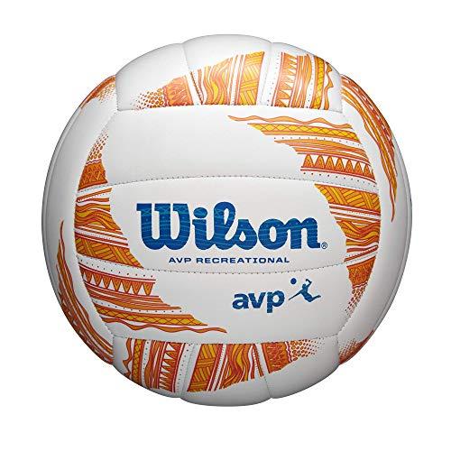 Wilson AVP Modern Classic Volleyball, Blue/White