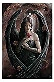 Stokes, Anne - Angel Rose - Fantasy Poster Adler Flügel