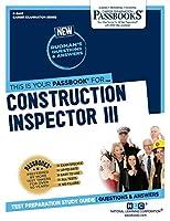 Construction Inspector III (Career Examination)