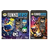 Funko Pop! - Funkoverse DC Comics Strategy Game Bundle of 2 - Base Game DC 100 and Expandalone DC 101