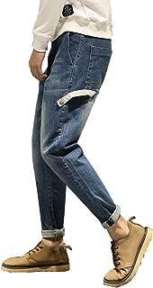 ジーンズ メンズ ズボン デニム パンツ ジーパン おしゃれ シンプル スタイリシュ 快適 きれいめ 長ズボン ジュニア ロングズボン ジーパン デニムパンツ ヨガウェア ストリート カジュアル