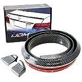 iJDMTOY 55-Inch Add-On 3D PU Rear Trunk Lip...