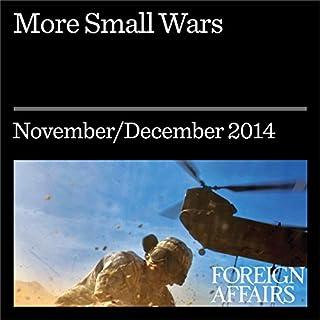 Couverture de More Small Wars