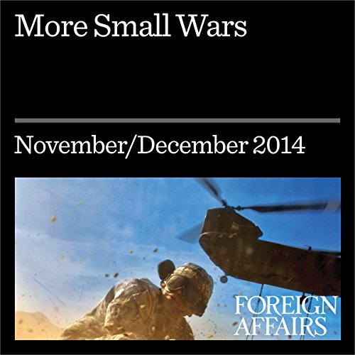 Couverture de More Small Wars