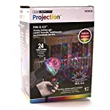 Outdoor Lightshow Multicolor LED Kaleidoscope Holiday Spotlight with Remote Control - Halloween and Christmas