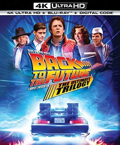 Back to the Future Trilogy [35th Anniversary] [4K Ultra HD Blu-ray/Blu-ray] - $29.99