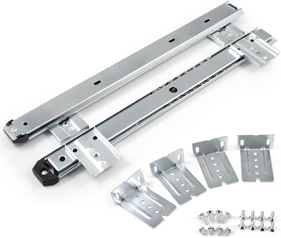 Liss 1 Pair Drawer Slides Max 54% New Shipping Free Shipping OFF Extension Bearing Run Ball Full