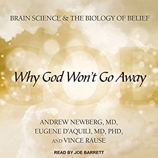 Why God Won't Go Away audiobook cover art