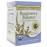 Lifestyle Awareness Organic Respiratory Balance Tea-20 Bags by Lifestyle Awareness