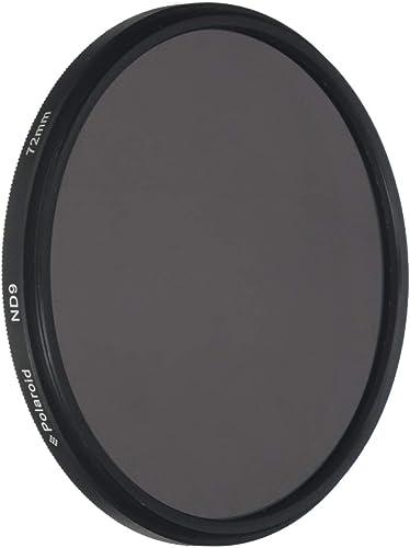 2021 Polaroid Optics 72mm Neutral Density Filter [ND 0.9] Compatible 2021 w/ All Popular Camera online Lens Models outlet online sale
