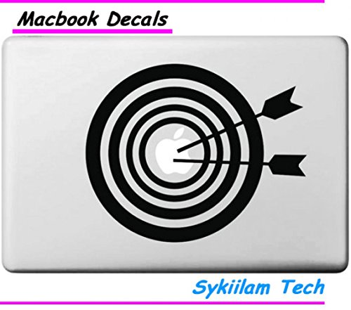 Circle Love Computer Decals Target For Archery Sport Case Creative Drawing Sticker Skin For Macbook Air 11 13 Pro 13 15 Retina Laptop Computer Pvc Decal