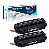LCL Compatible Cartucho de tóner 13A Q2613A (2 Negro) Reemplazo para Imprimantes HP Laserjet 1300 1300N 1300XI
