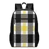 Mochila escolar Lumber Hipster Tartan 9, bolsa de libros de negocios, viajes, mochila casual para hombres, mujeres, adolescentes y niñas