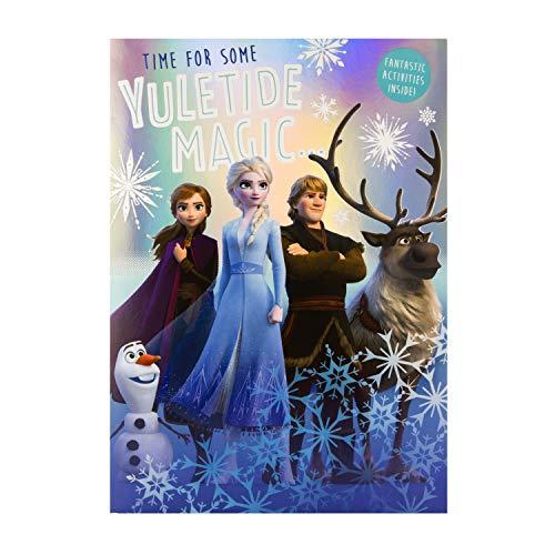 Biglietto Di Natale Grande, Motivo: Frozen II