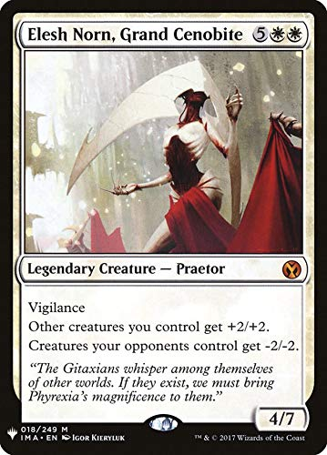 Magic: The Gathering - Elesh Norn, Grand Cenobite - Mystery Booster - Iconic Masters