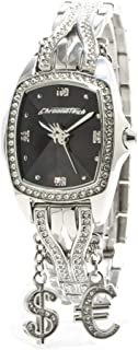 Chronotech Womens Analogue Quartz Watch with Stainless Steel Strap CT7008LS-15M